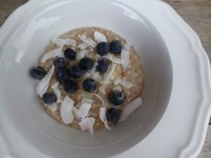 Oatmeal with stealth eggs- (shhhhhhh)