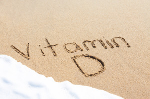 A healthy body stores extra vitamin D for cloudy days.