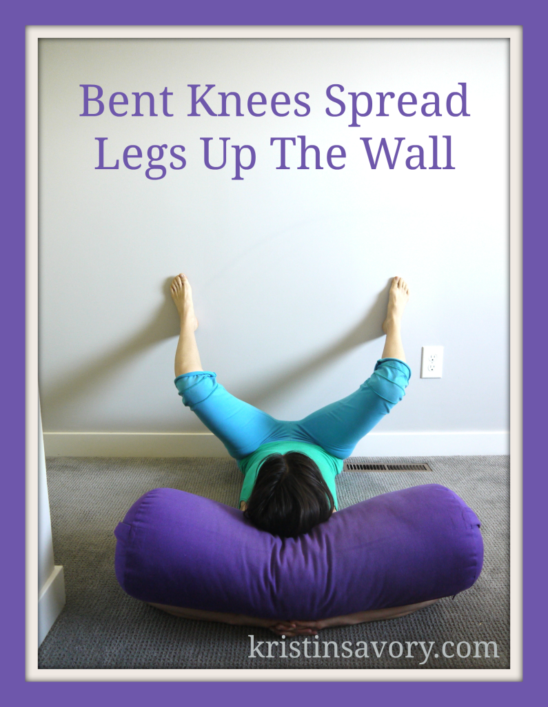 bent knees