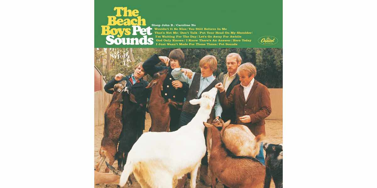 Pet Sounds Iconic Album Cover - The Beach Boys