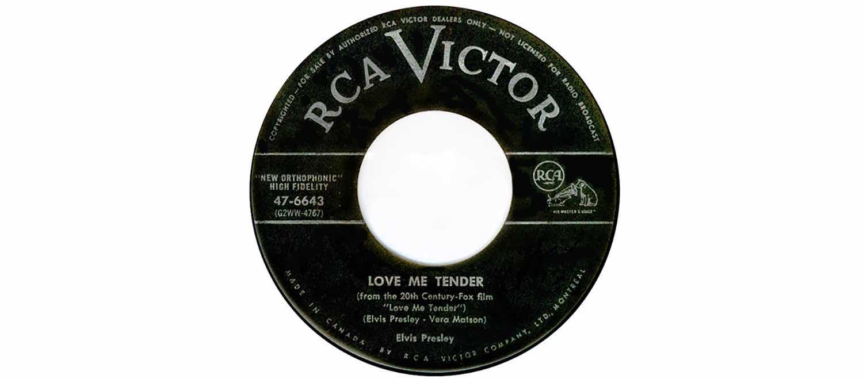 Love Me Tender - RCA Victor - Elvis Presley