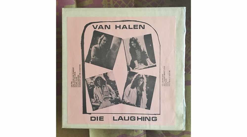 """Official Bootleg Vinyl : Die Laughing Live 1977 12"""" Vinyl LP - H. Michael Karshis"""