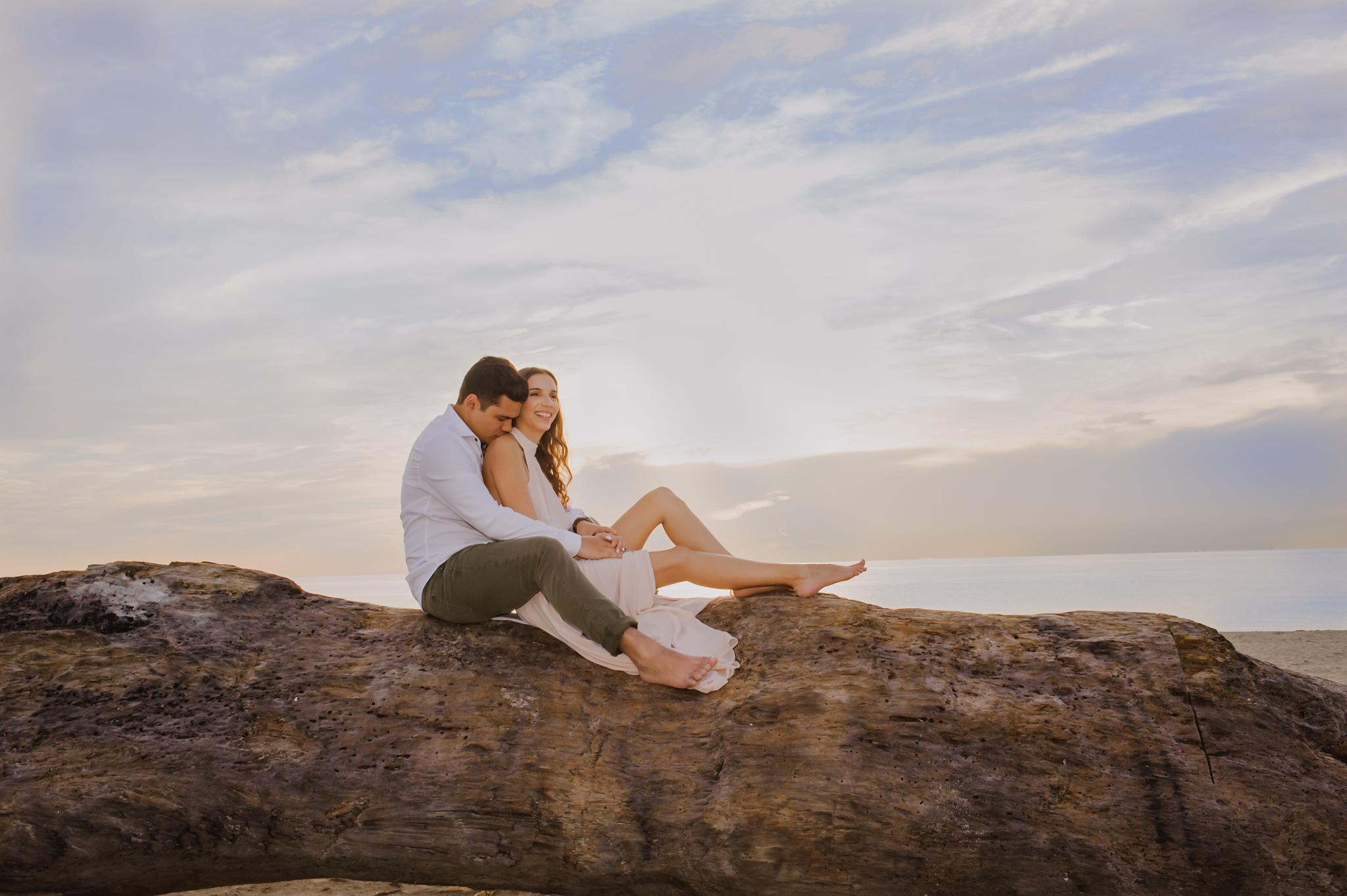 DANIELA + DAVID ENGAGEMENT:  MIAMI BEACH, FLorida