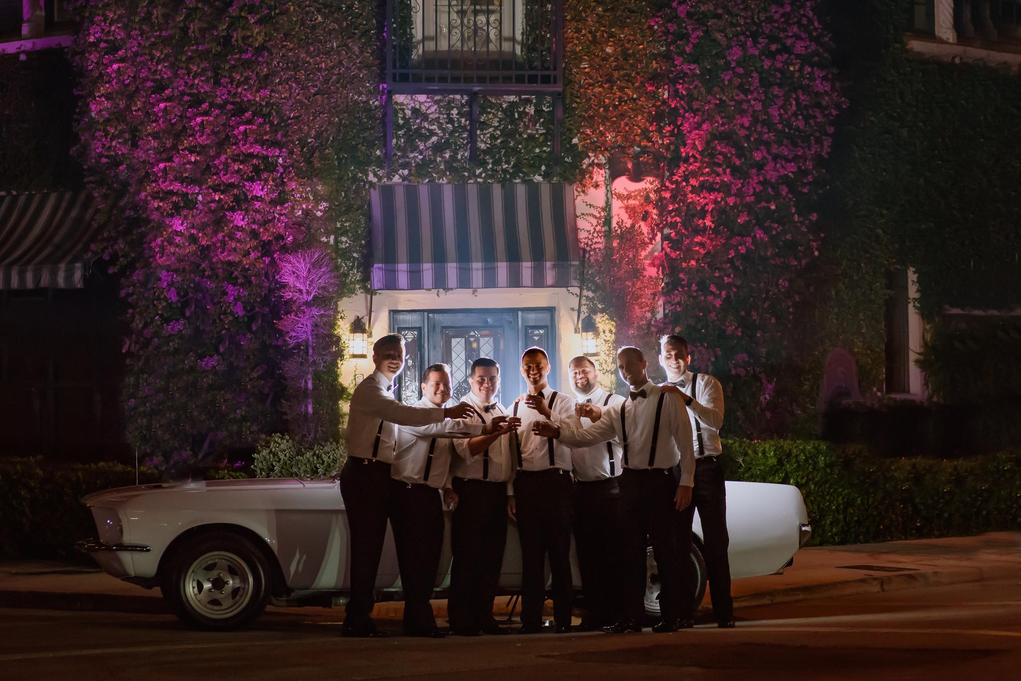 LIZETTE + GERRY WEDDING:  CORAL GABLES, FLORIDA LA JOLLA BALLROOM