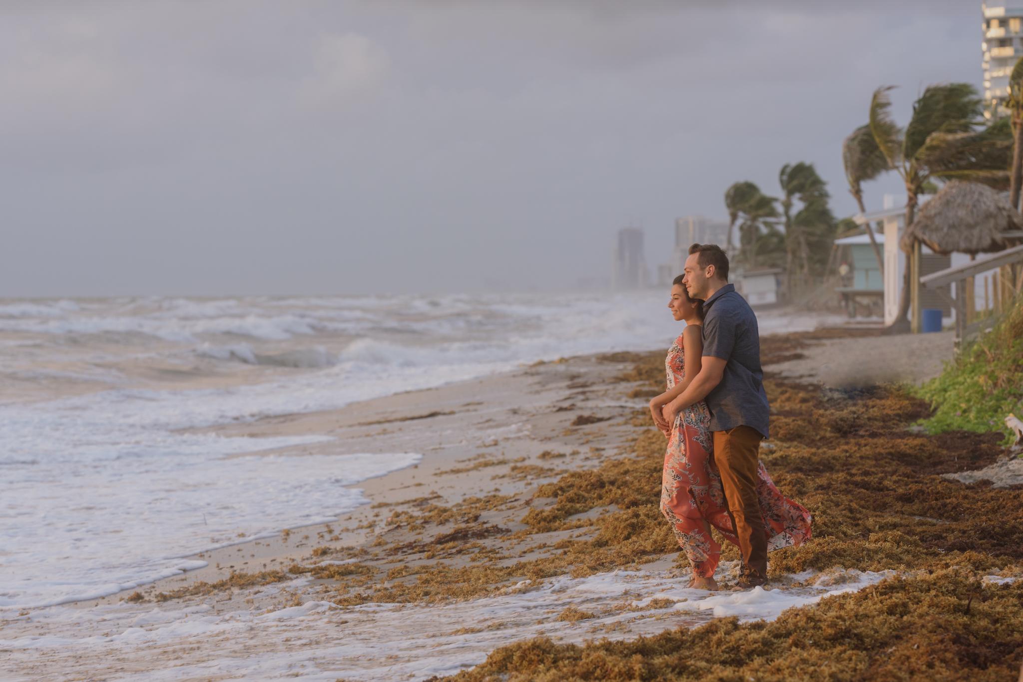 ASHELY + MATT ENGAGEMENT:  DANIA BEACH, FLorida