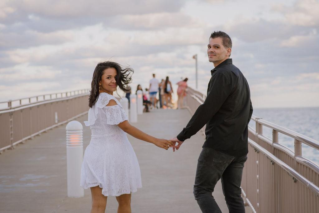 BELKIS + DINO ENGAGEMENT PHOTOGRAPHER:  SUNNY ISLES/AVENTURA, FLORIDA