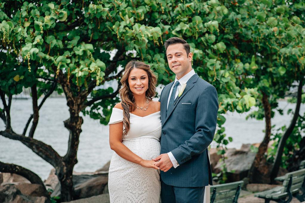 STEPHANIA + CHARLIE WEDDING:  Smith & Wollensky SOUTH BEACH, FLORIDA