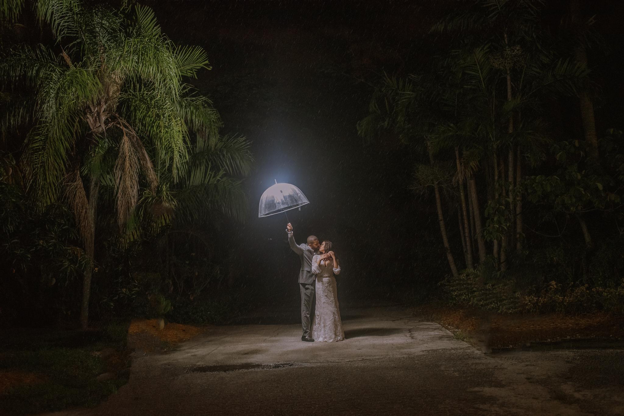KAREN + JACOB WEDDING:  LIVING SCULPTURE SANCTUARY DAVIE, FLORIDA