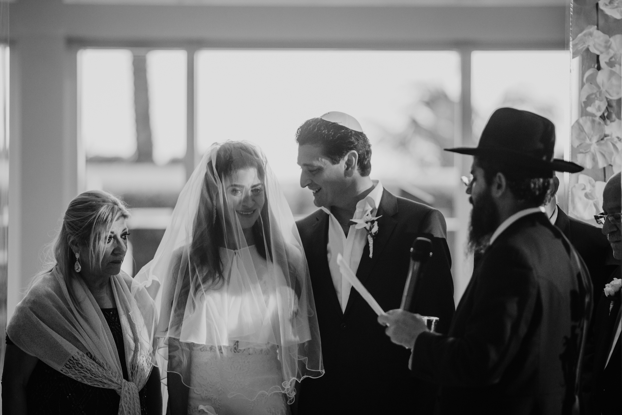 MERAV + EMMANUEL JEWISH WEDDING:  HOLLYWOOD, FLORIDA