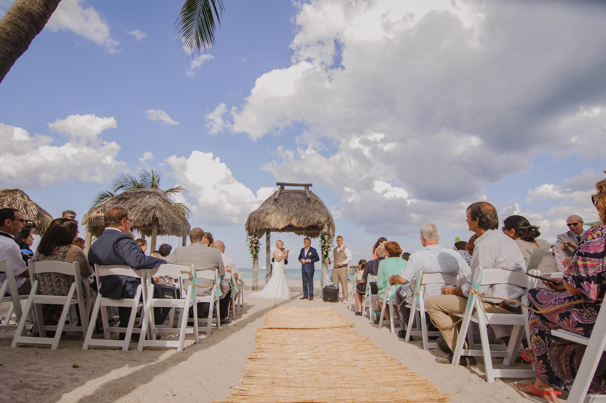 KELLY + ROBERT DESTINATION BEACH WEDDING:  NEWPORT BEACHSIDE RESORT, SUNNY ISLES, FL