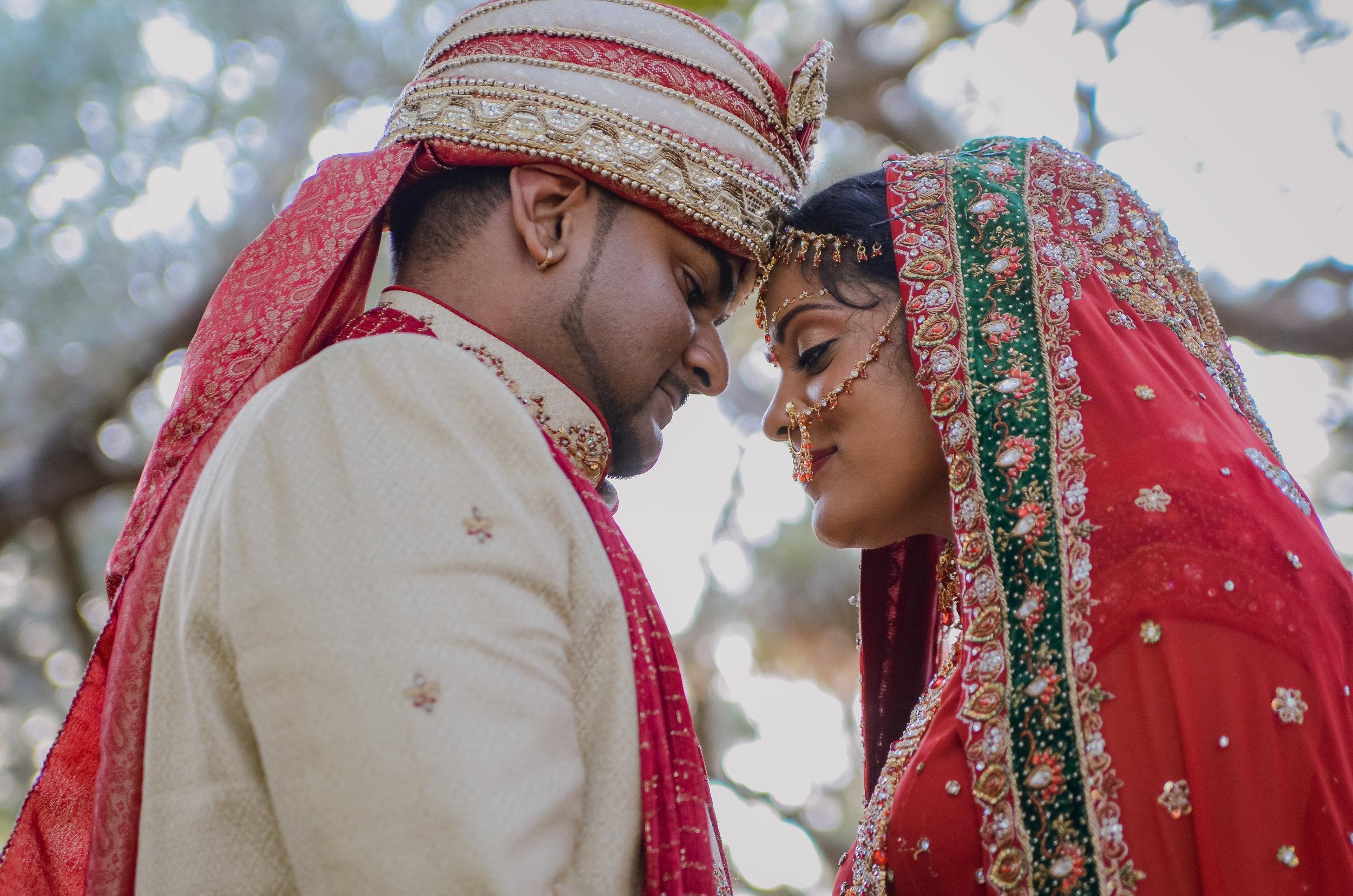 LAURA + BHUVAN INDIAN WEDDING FORMALS:  MATHESON HAMMOCKS, CORAL GABLES, FL