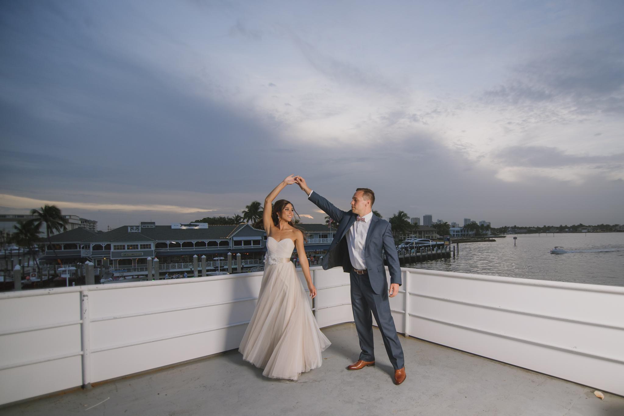 ASHLEY + MATT WEDDING: GALLERY ONE HOTEL &  SUN DREAM YACHT CHARTERS IN SUNRISE, FL