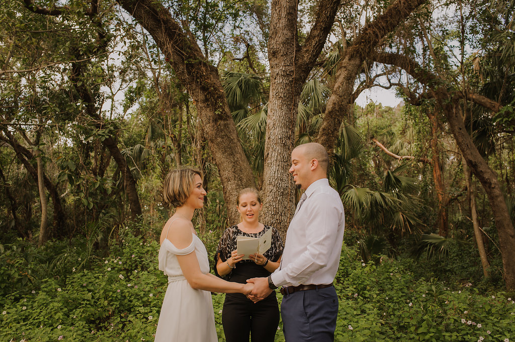 """I did a simple wedding at a park but wanted to have pics to remember the occasion and so glad I did. Worth every penny!!! Vanessa was able to take incredible pics of the entire family and some romantic shots alone. She has an incredible eye and my pics turned out better than I imagined.""  -Stephanie + Diego"