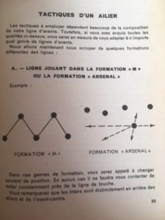 Arsenal were used to demonstrate good practice