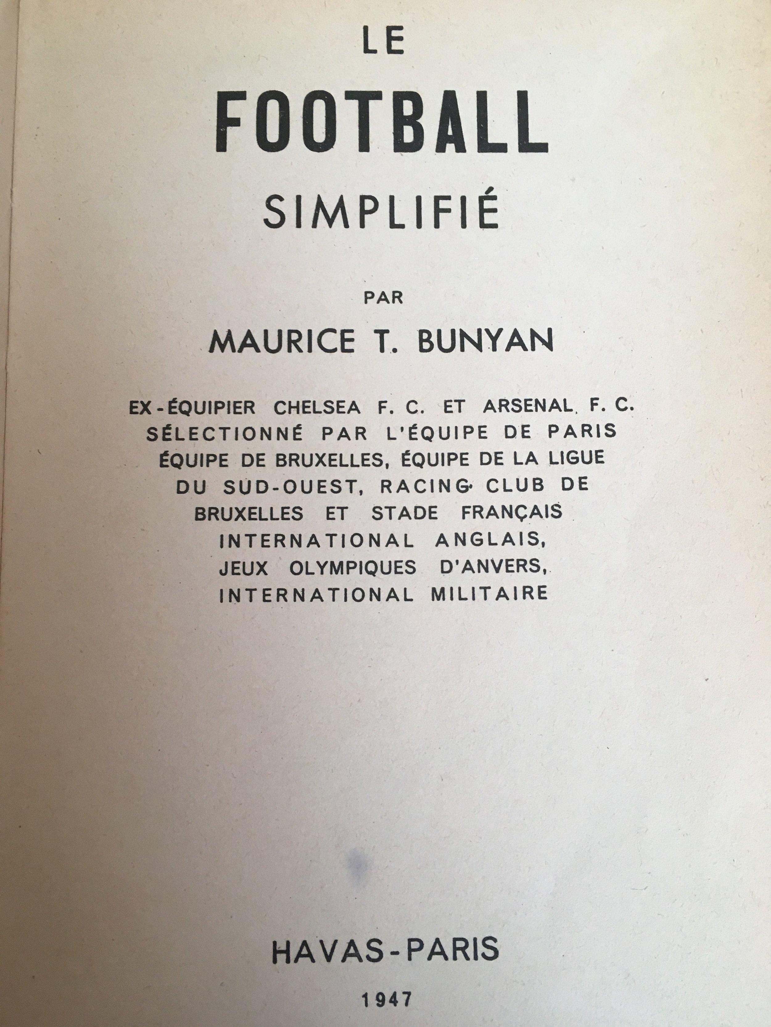 A summary of Maurice's career til 1947