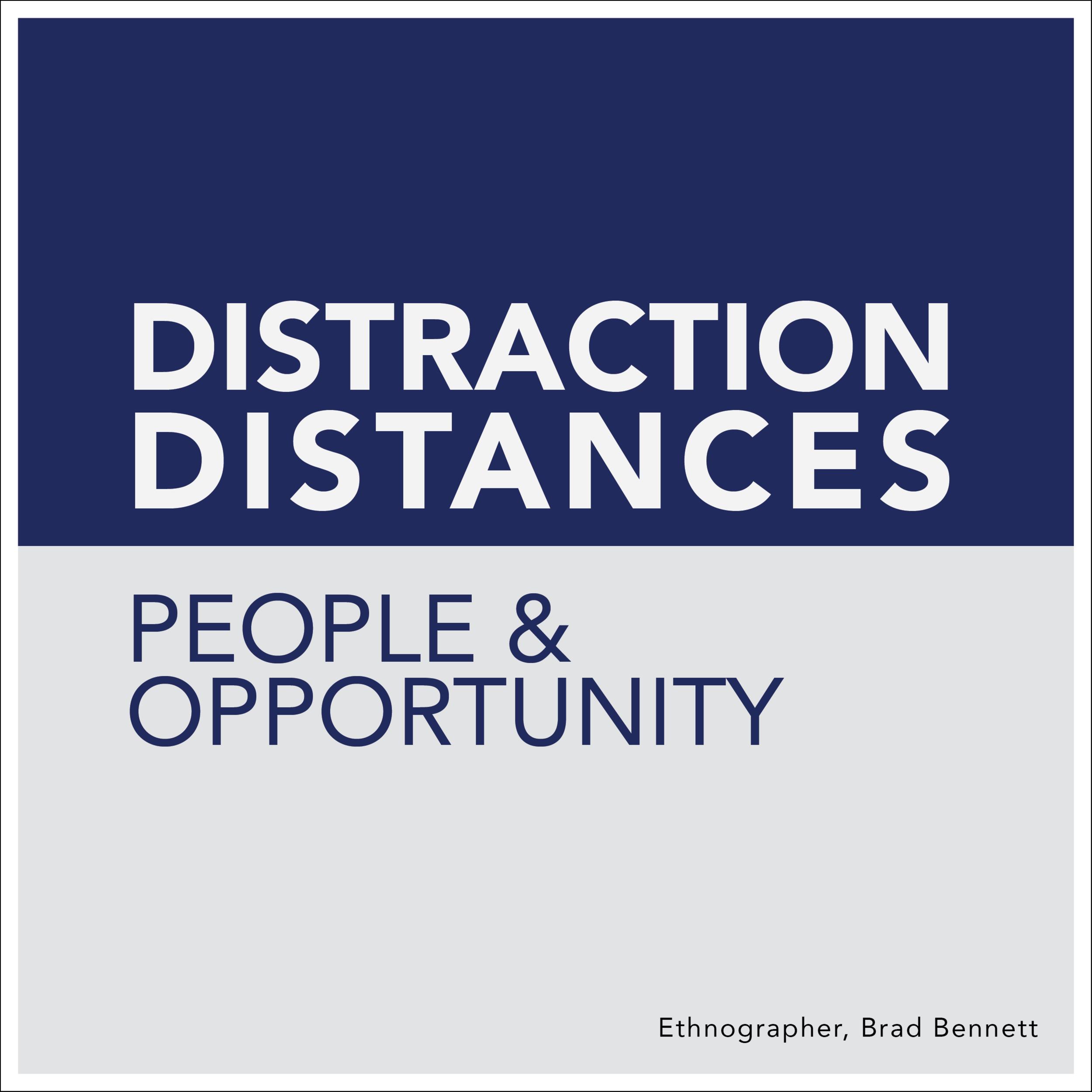 Ethnographer Brad Bennett Badge - Distraction