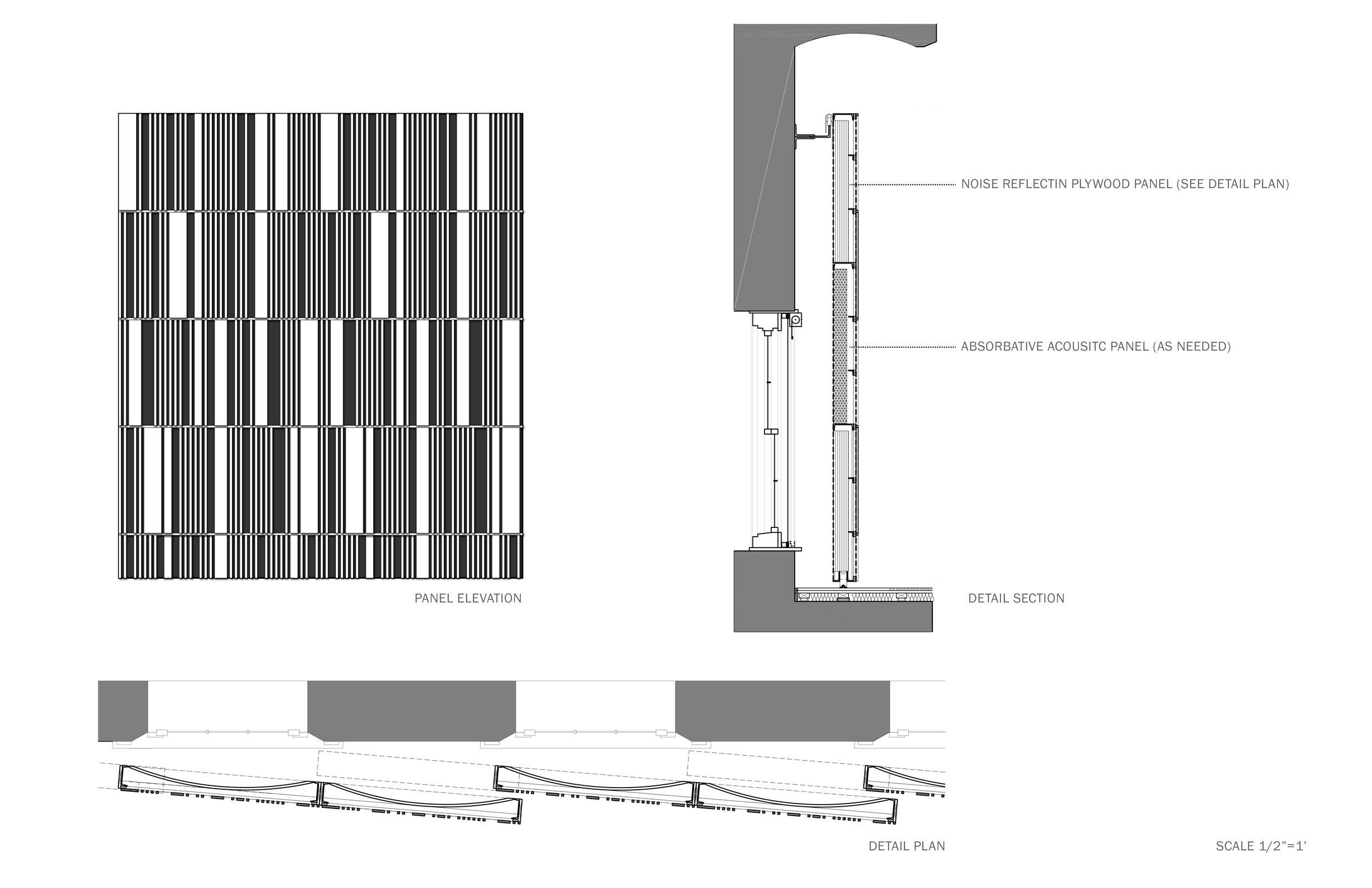 Panel Detail courtesy of Eskew+Dumez+Ripple