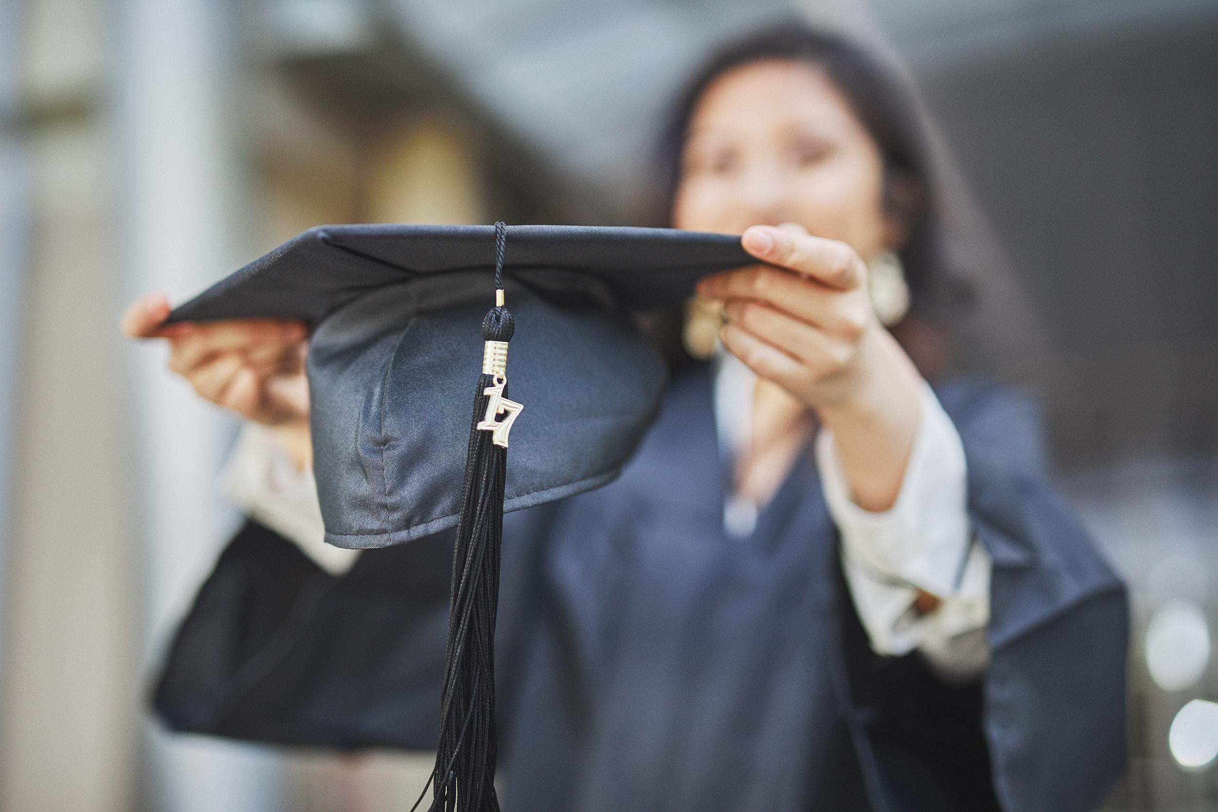 Elyssa May Graduation Photoshoot at University of San Francisco