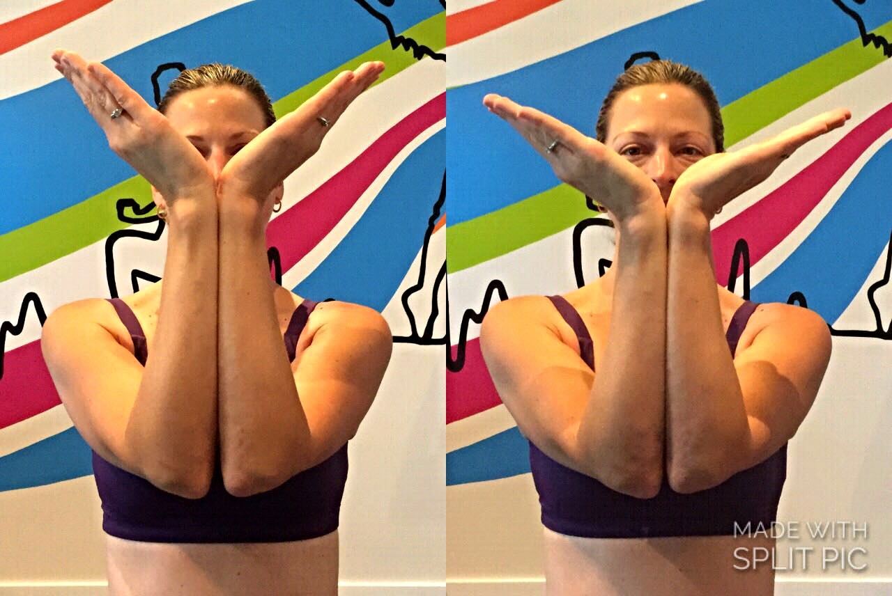 'Before and 'After' Photos:   The MELT Method Soft Ball Hand Treatment Improved My Wrist Flexibility and Extension in Minutes