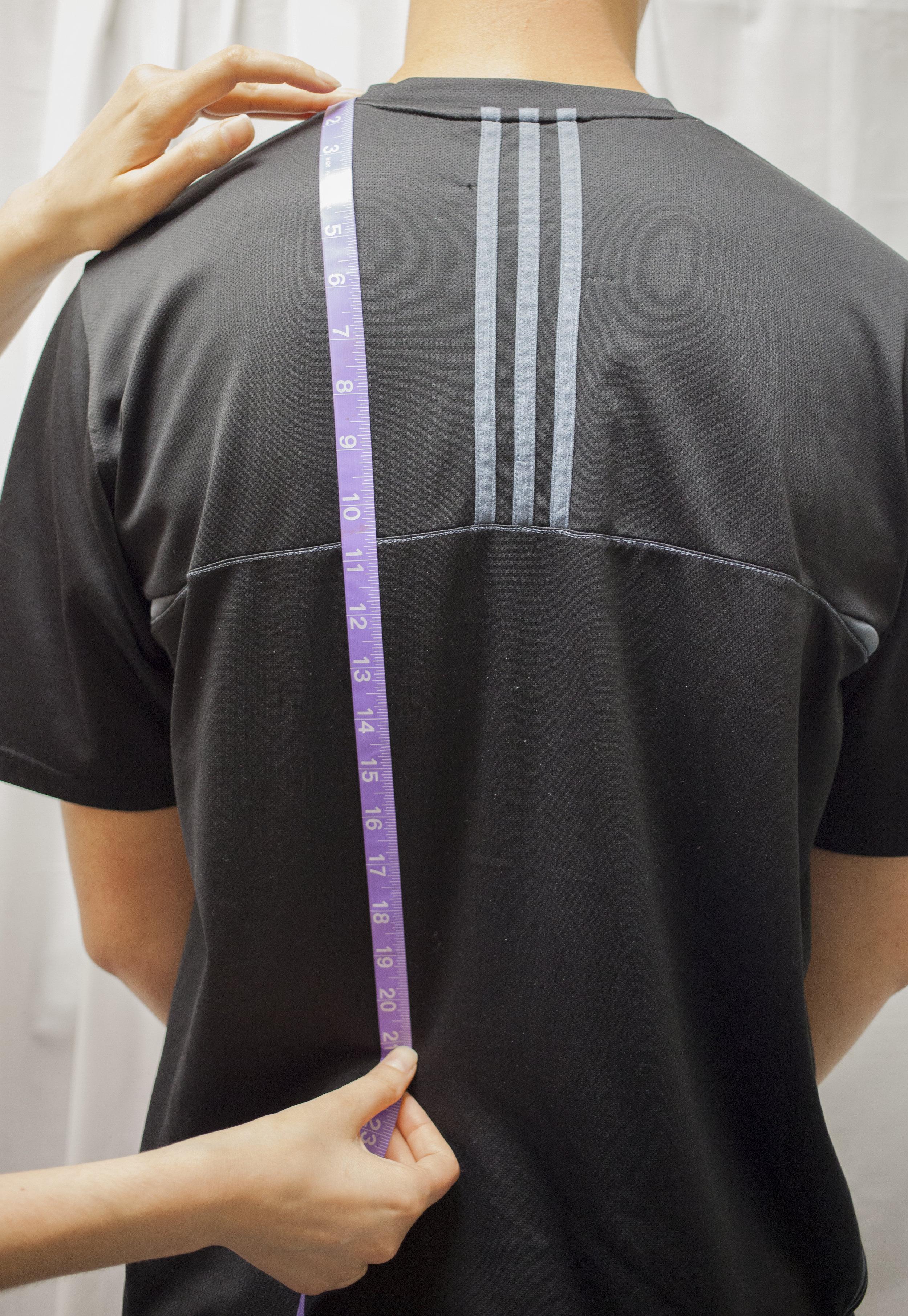 10. Shoulder to Natural Waist (Back)