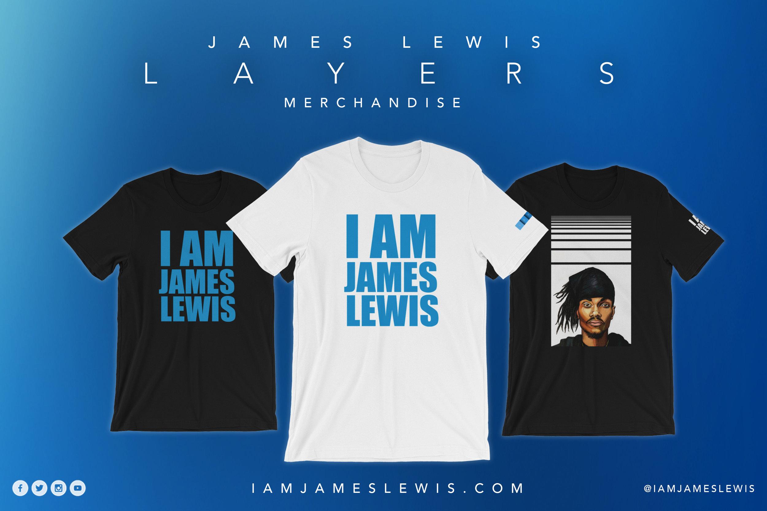 James Lewis Spotify iamjameslewis LAYERS Merchandise