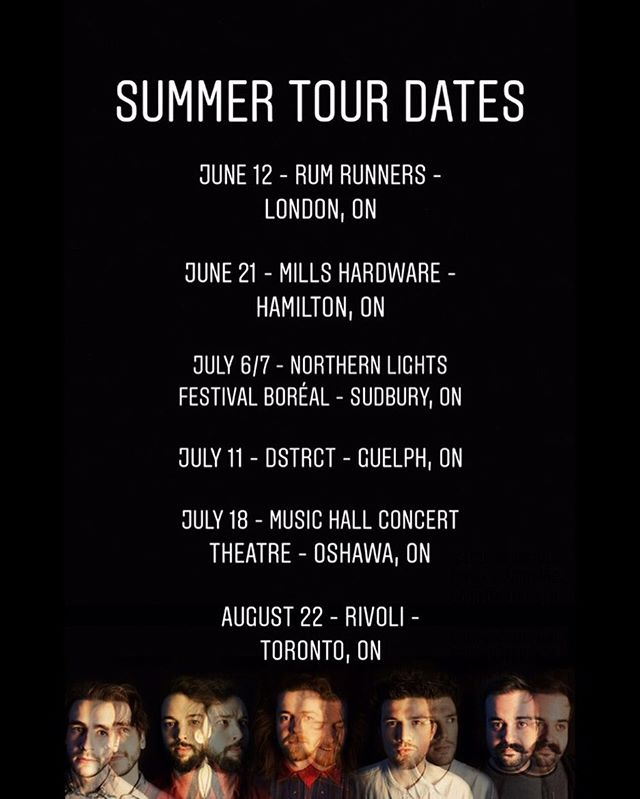 🌞Summer Tour Dates🌞 - very excited to be playing all of these wonderful cities in all of these amazing venues. 📸: @lawest.co