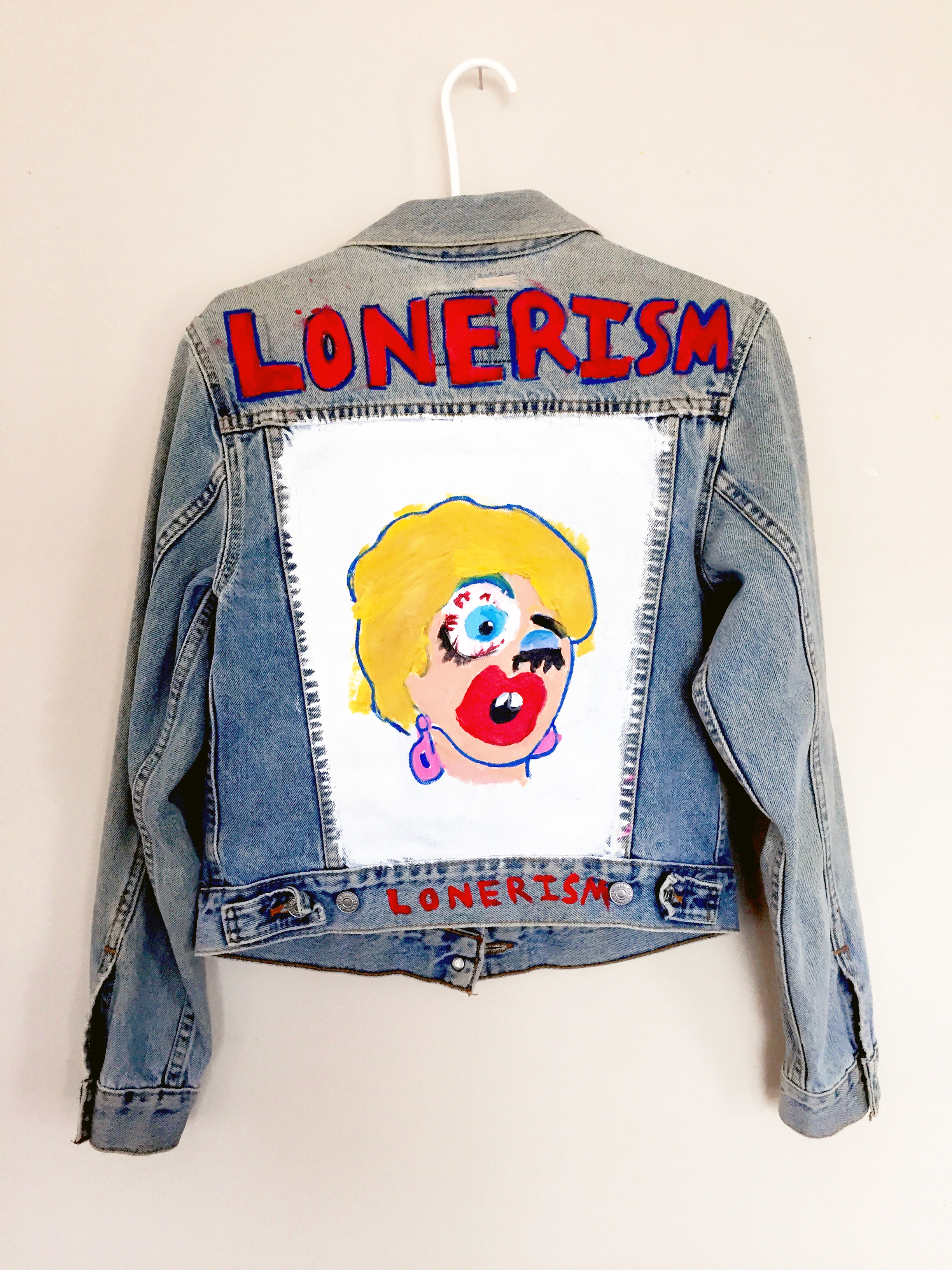 Lonerism Co Jacket by Artist Rachel O'Donnell