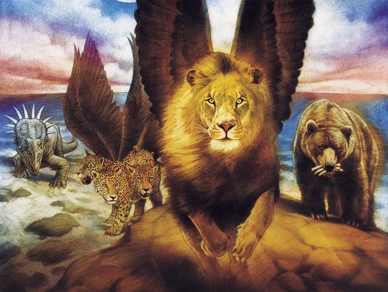 Four beasts of Daniel 7