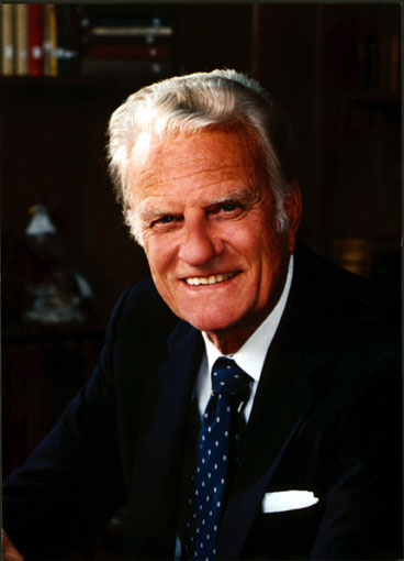"Billy Graham, Jr. (Born 1918, age 98) is an American  evangelical Christian   evangelist , ordained as a  Southern Baptist  minister. According to his staff, more than 3.2 million people have responded to the invitation at Billy Graham Crusades to ""accept Jesus Christ as their personal savior""."