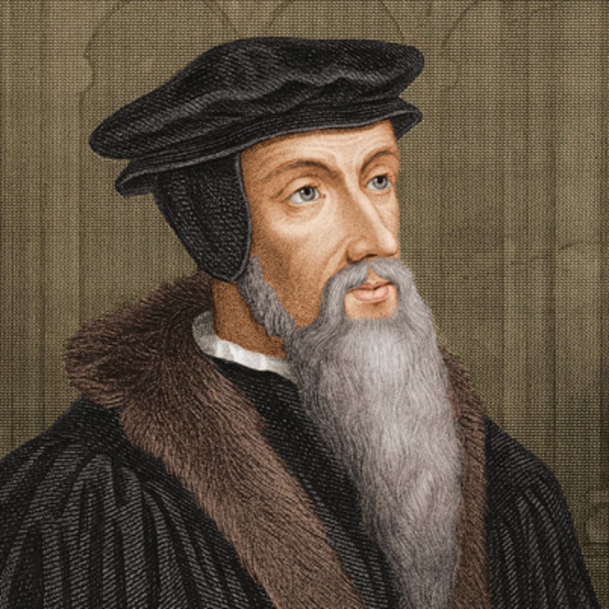John Calvin (1509 - 1564) was a French theologian and pastor during the Protestant Reformation who was a principal figure in the development of Calvinism.  Learn more...