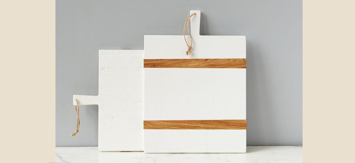 White Mod Charcuterie Boards | Photo: etuhome