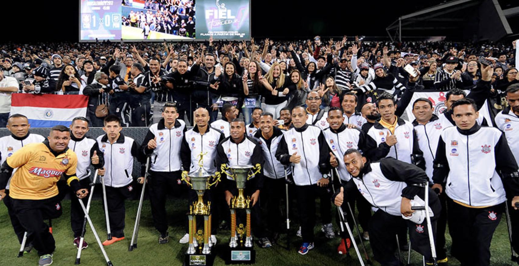 Apresentação na Arena Corinthians