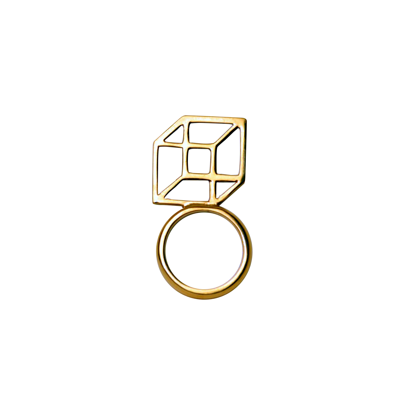 Bespoke work - cube ring