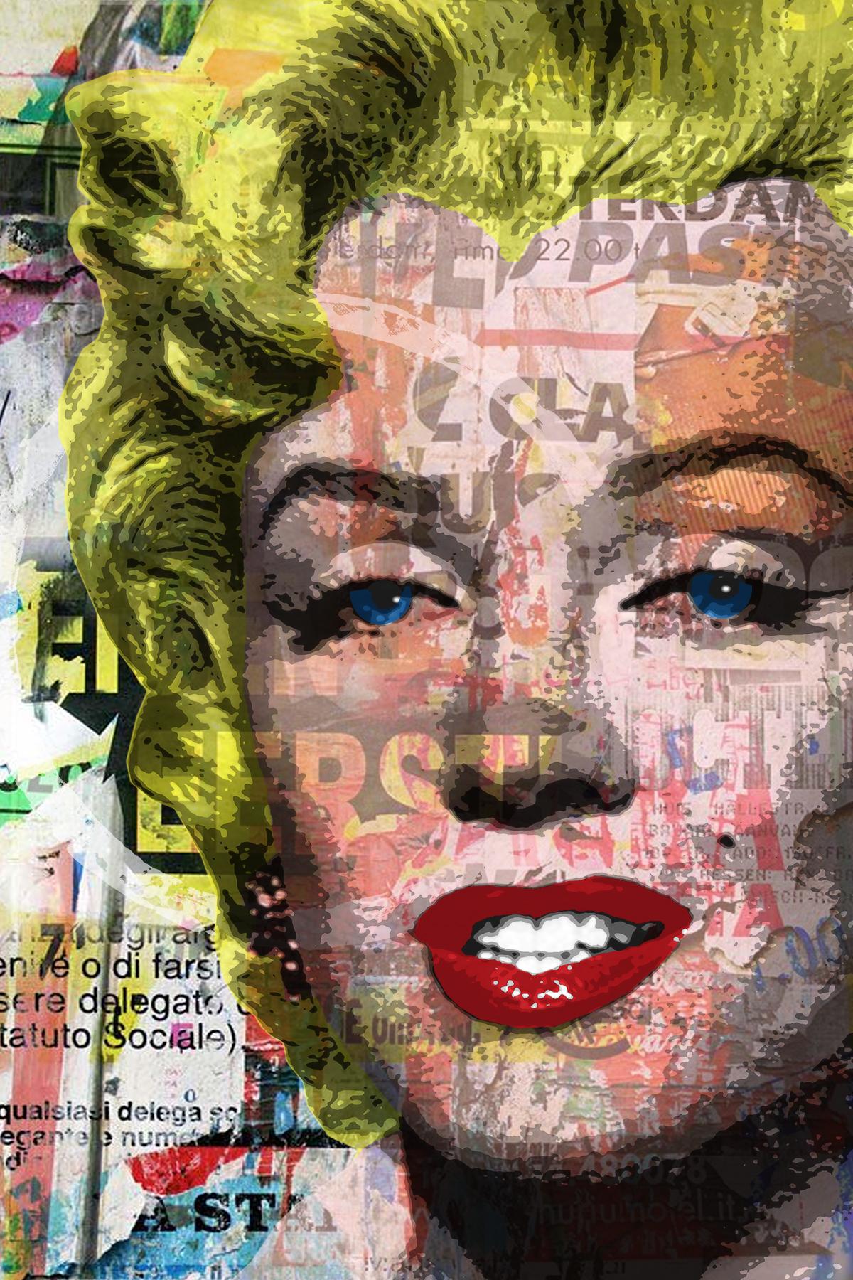 Miss M by artist Sam Collins