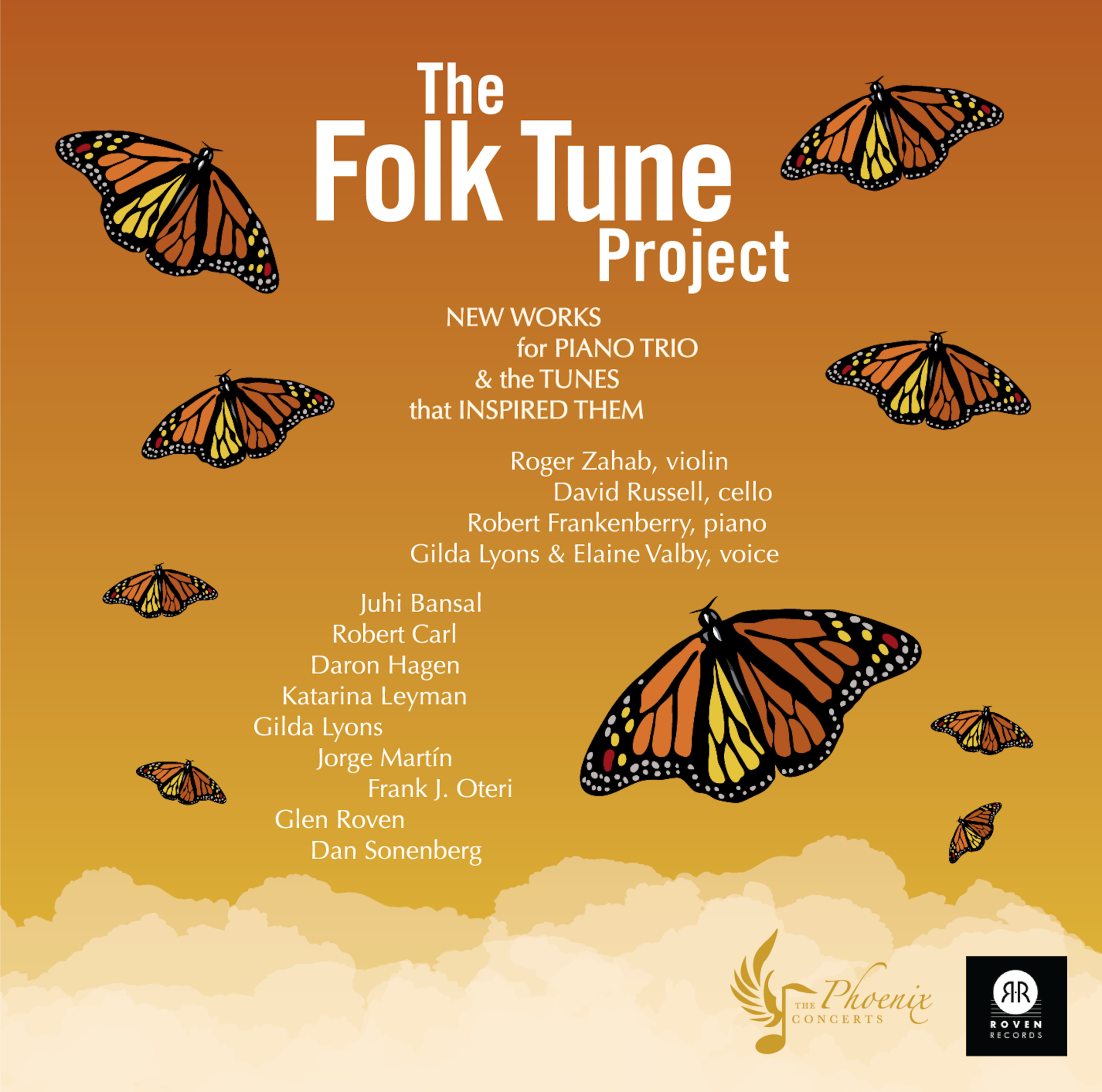 The Phoenix Concerts' release   The Folk Tune Project   is available on Amazon. Click the image above to order.