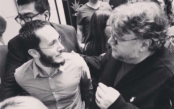Pietro Schito and Guillermo del Toro.jpg