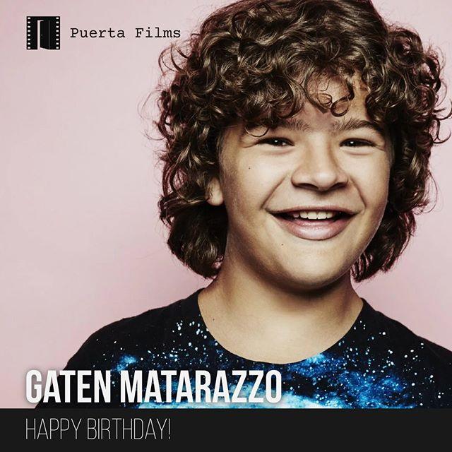 Happy Birthday Gaten Matarazzo! #GatenMatarazzo #StrangerThings #Dustin