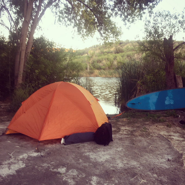 camping sup