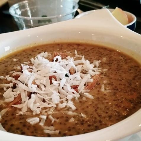 Pumpkin quinoa porridge