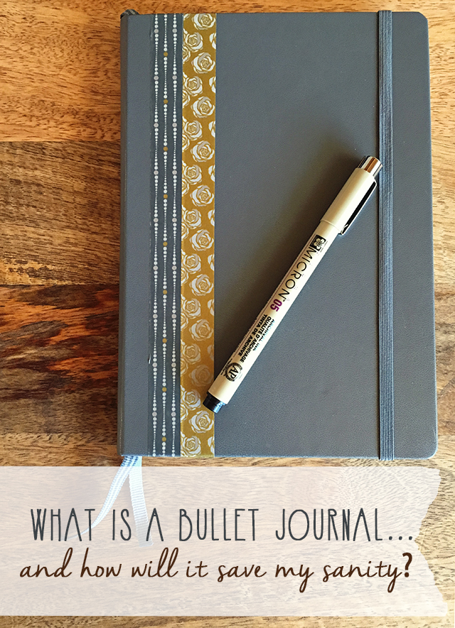 what is bullet journal