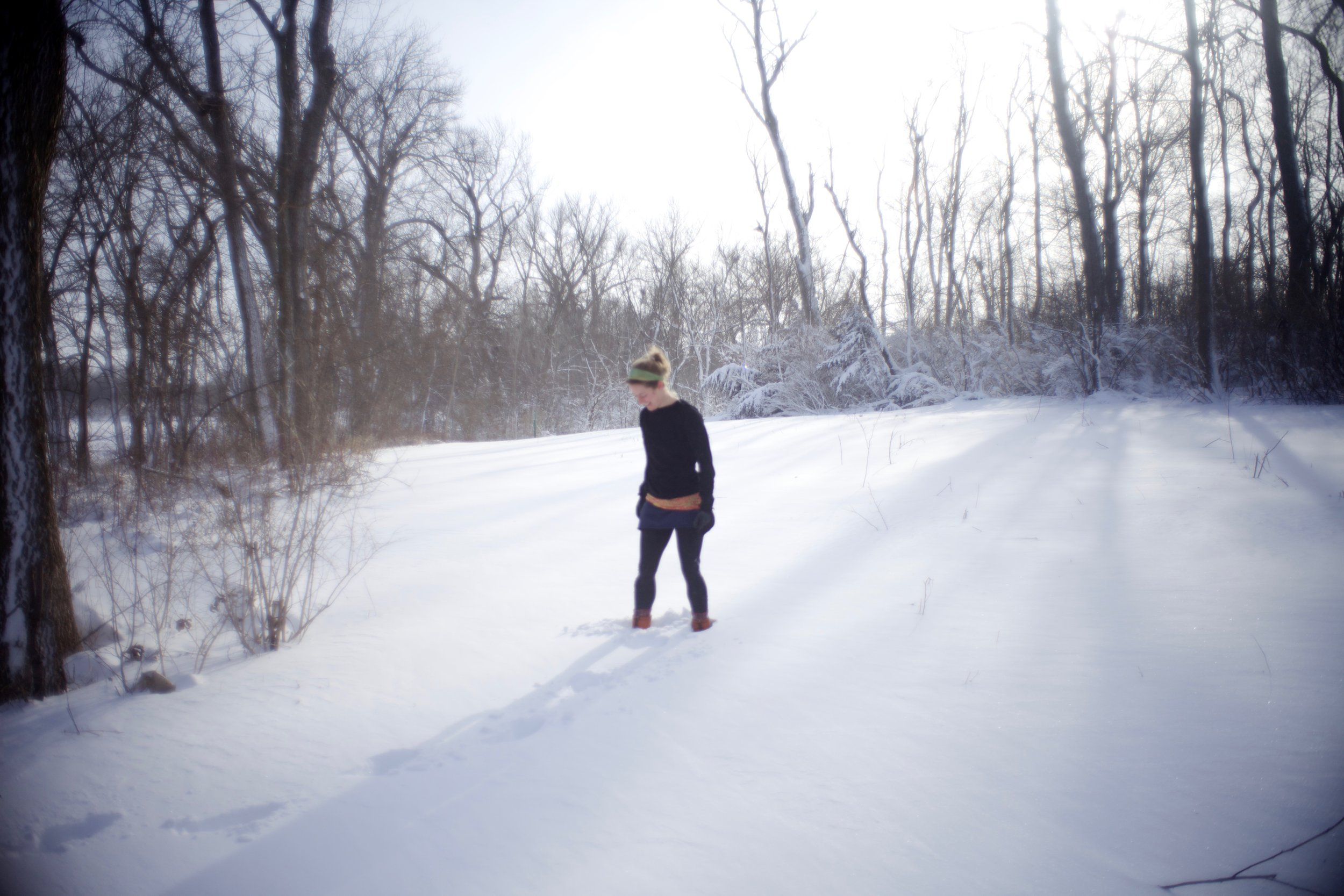 des moines winter hike