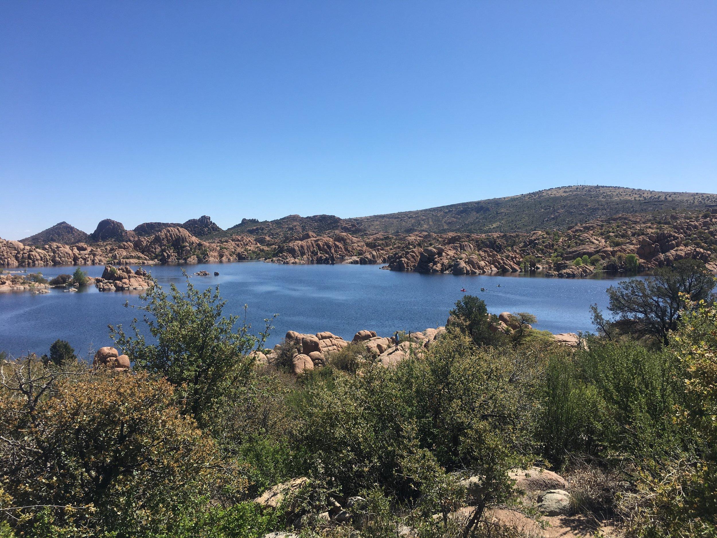 Watson Lake in Prescott, Arizona