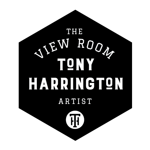 TONY HARRINGTON ARTIST - VISUAL IDENTITY