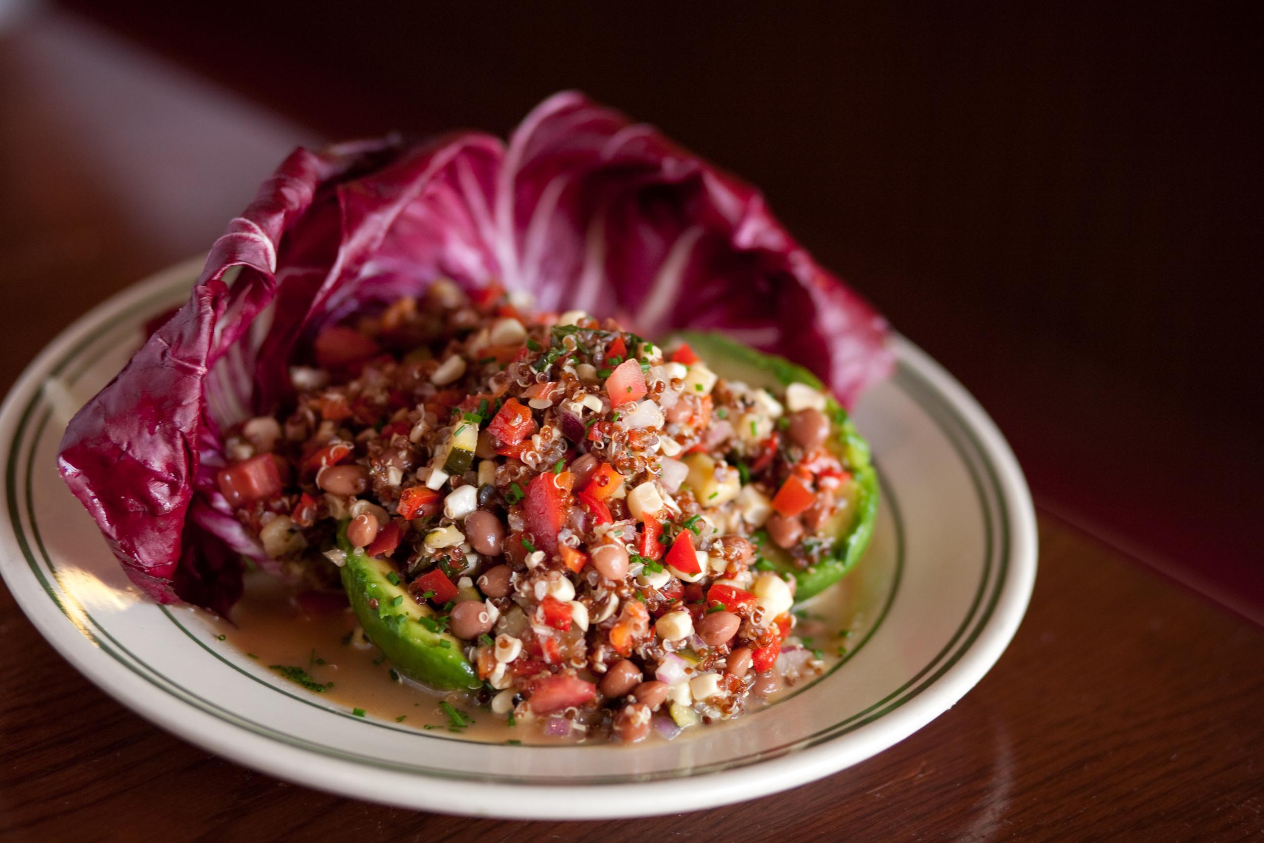Stuffed Avocado w Quinoa