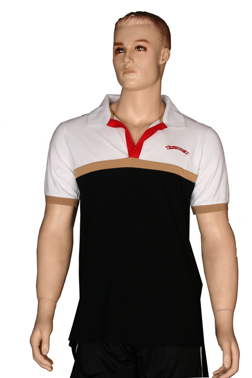 White Black Beige and Red Baseball Uniforms, T-Shirts