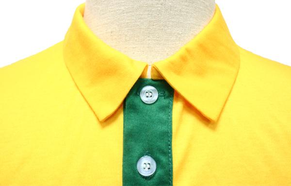 Green Yellow and White Baseball Uniforms, T-Shirts