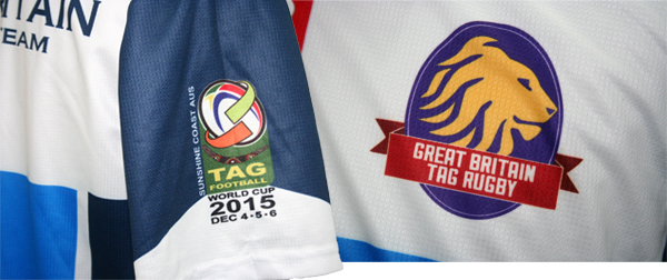 Great Britain Tag Rugby Polo Shirt
