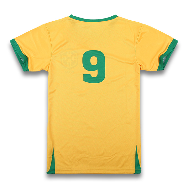 Yellow and Green Soccer Uniforms, Jerseys