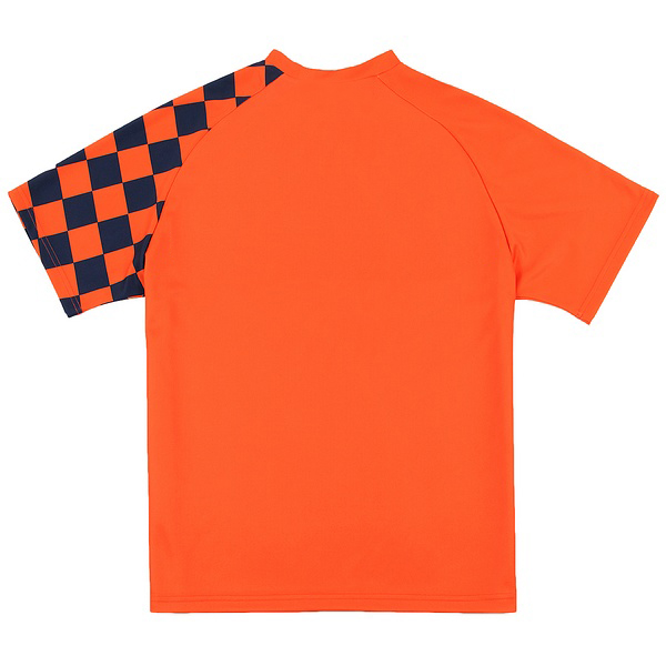 Orange and Blue Soccer Uniforms, Jerseys