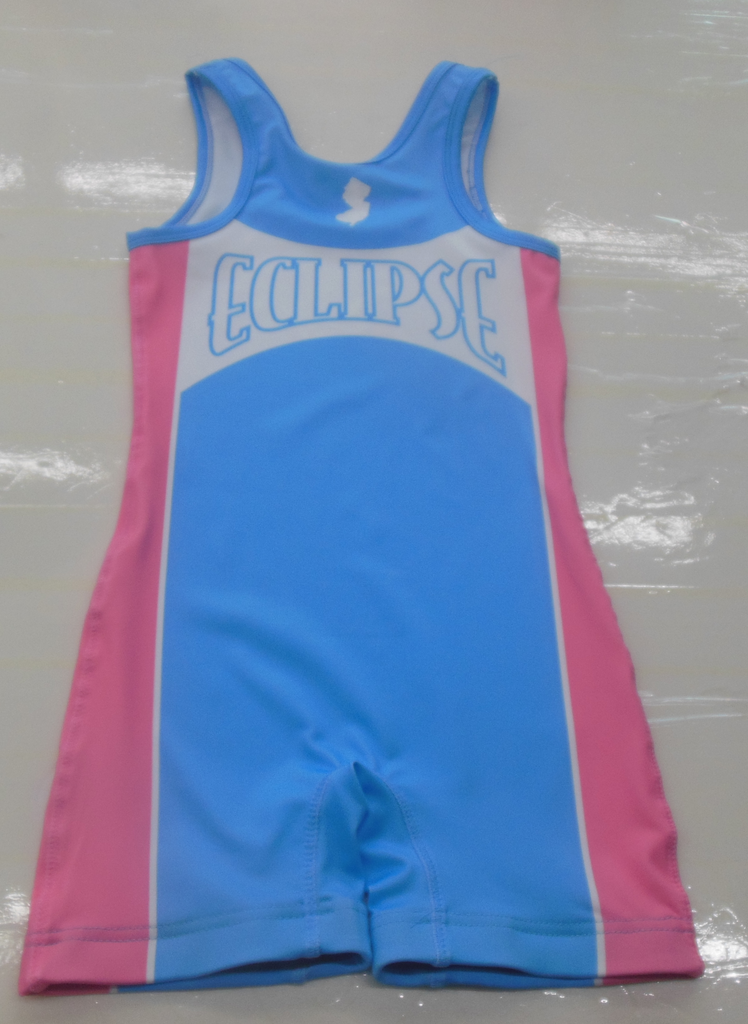 THUNDER Sky Blue Blue Yellow and White Baseball Uniforms, Kids Swimming Suits